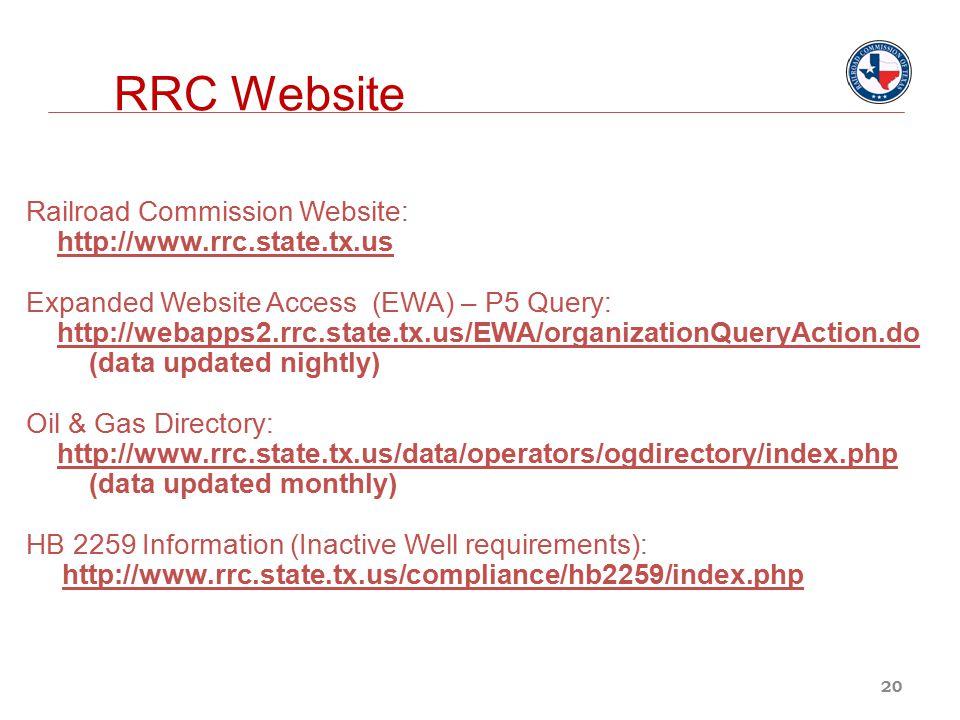 RRC Website