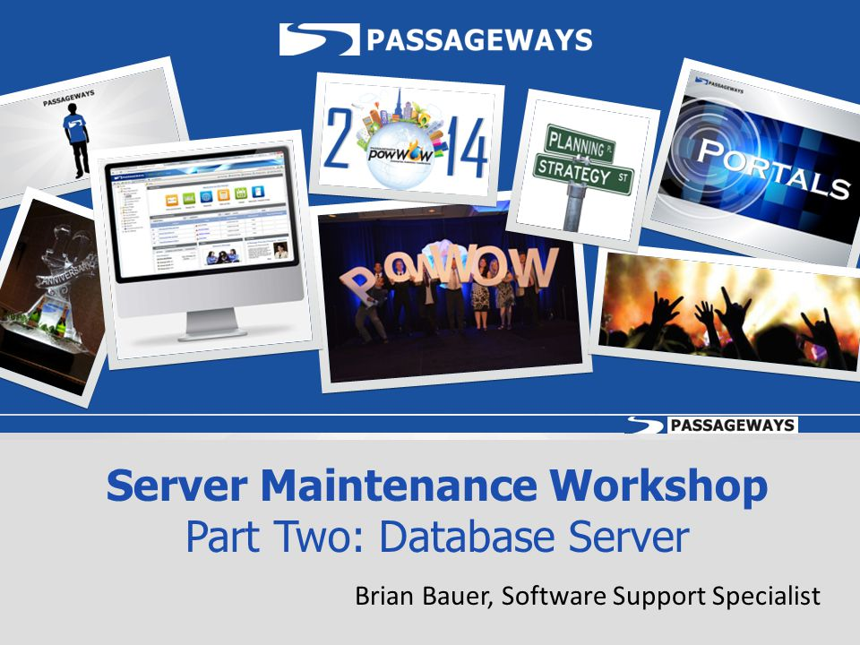 Server Maintenance Workshop