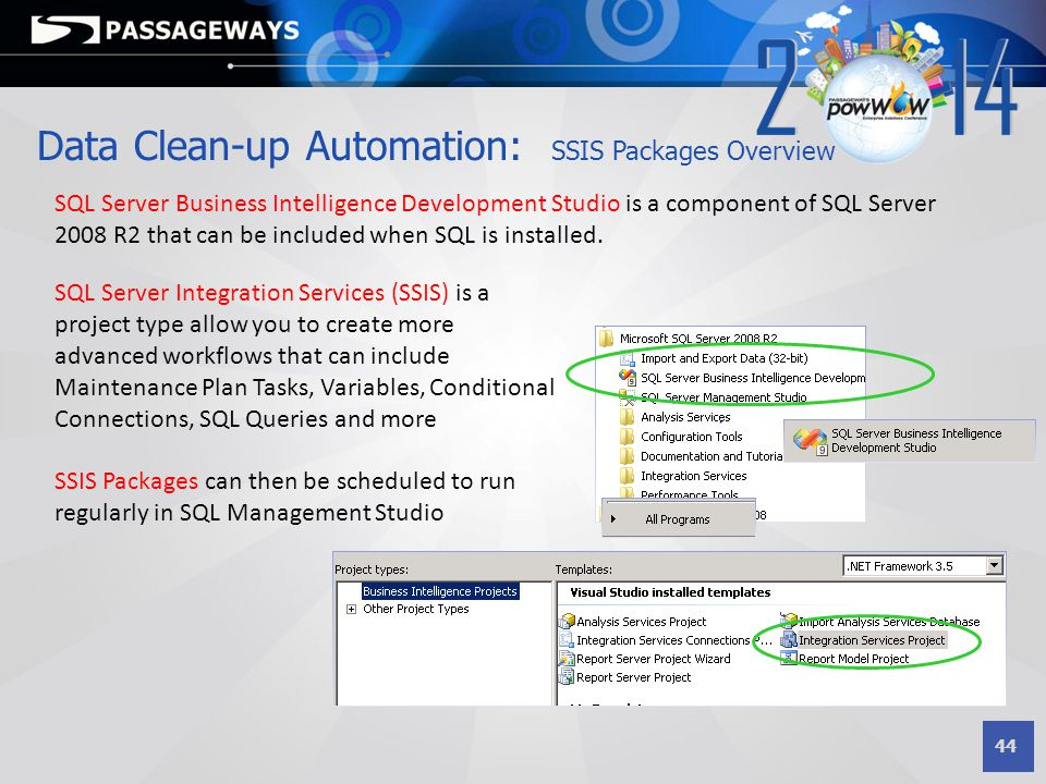 Data Clean-up Automation: SSIS Packages Overview