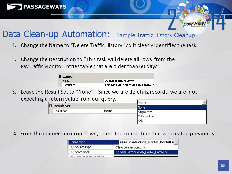 Data Clean-up Automation: Sample Traffic History Cleanup