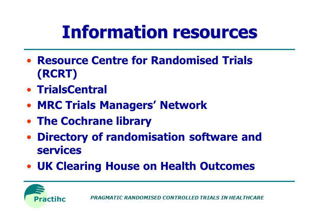 Information resources