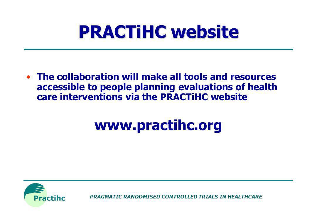 PRACTiHC website www.practihc.org