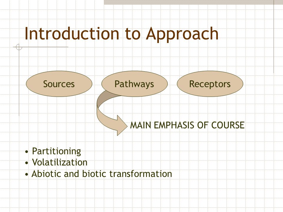 Introduction to Approach