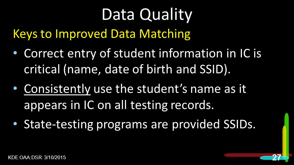 Data Quality Keys to Improved Data Matching