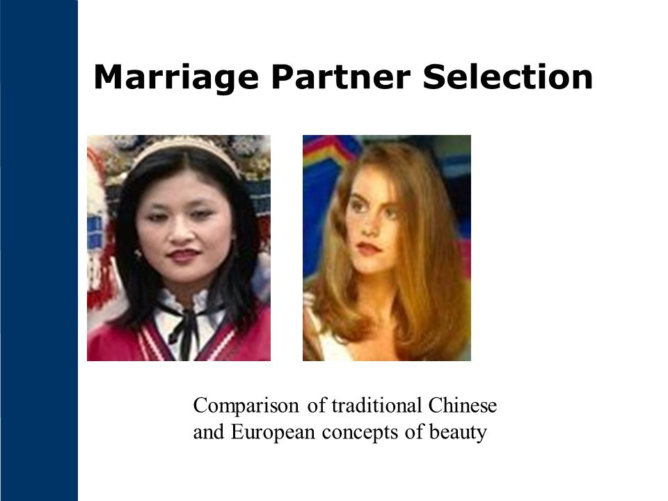 Marriage Partner Selection