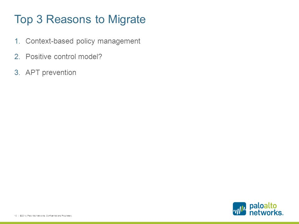 Top 3 Reasons to Migrate Context-based policy management