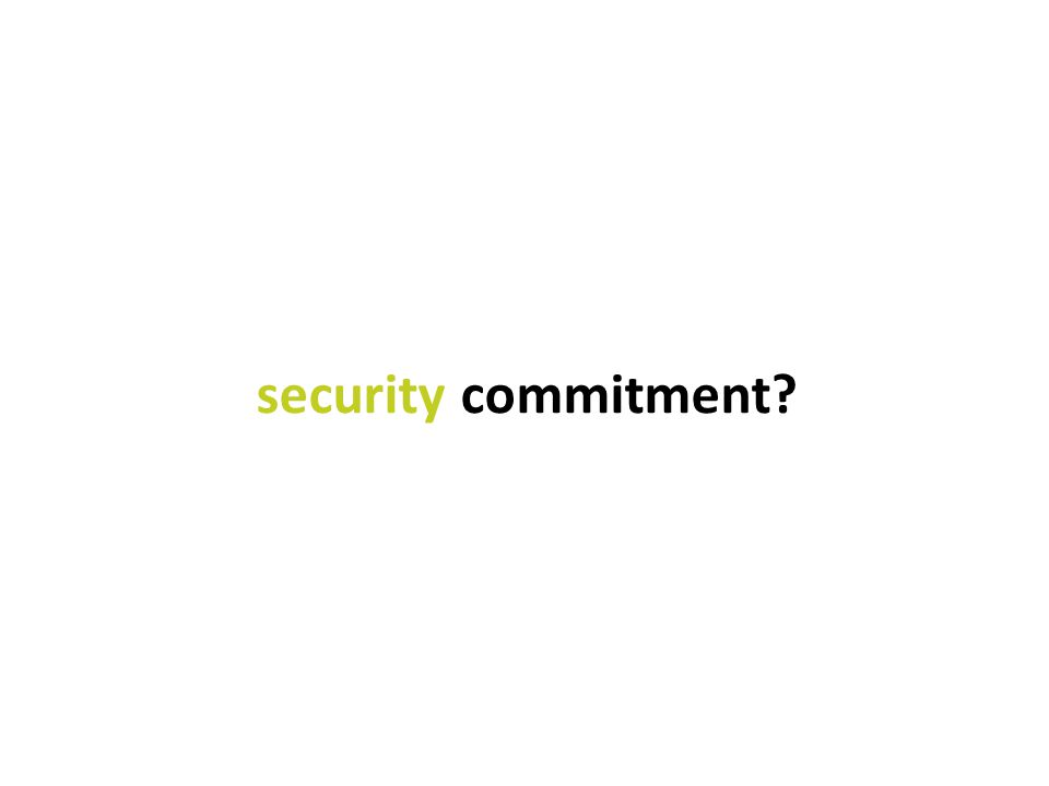 Feb 2014: Continued Security Business Uncertainty