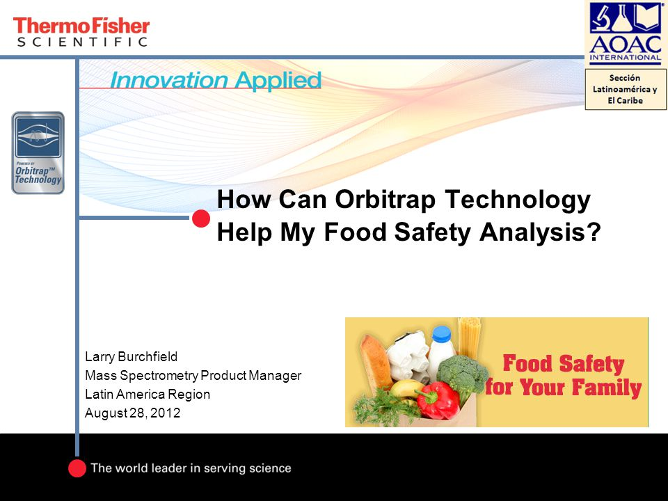 How Can Orbitrap Technology Help My Food Safety Analysis