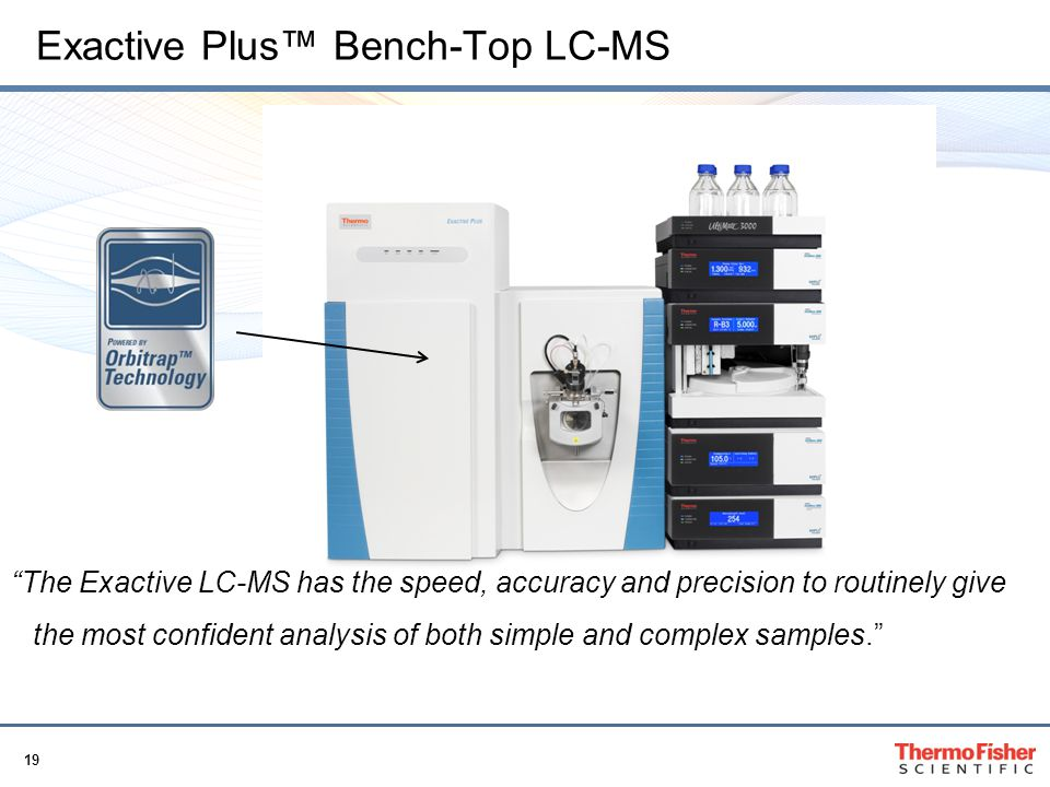 Exactive Plus™ Bench-Top LC-MS