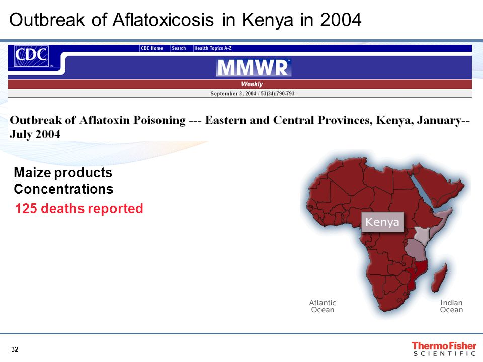 Outbreak of Aflatoxicosis in Kenya in 2004