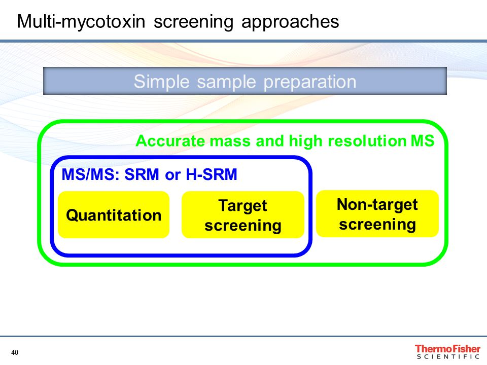Multi-mycotoxin screening approaches