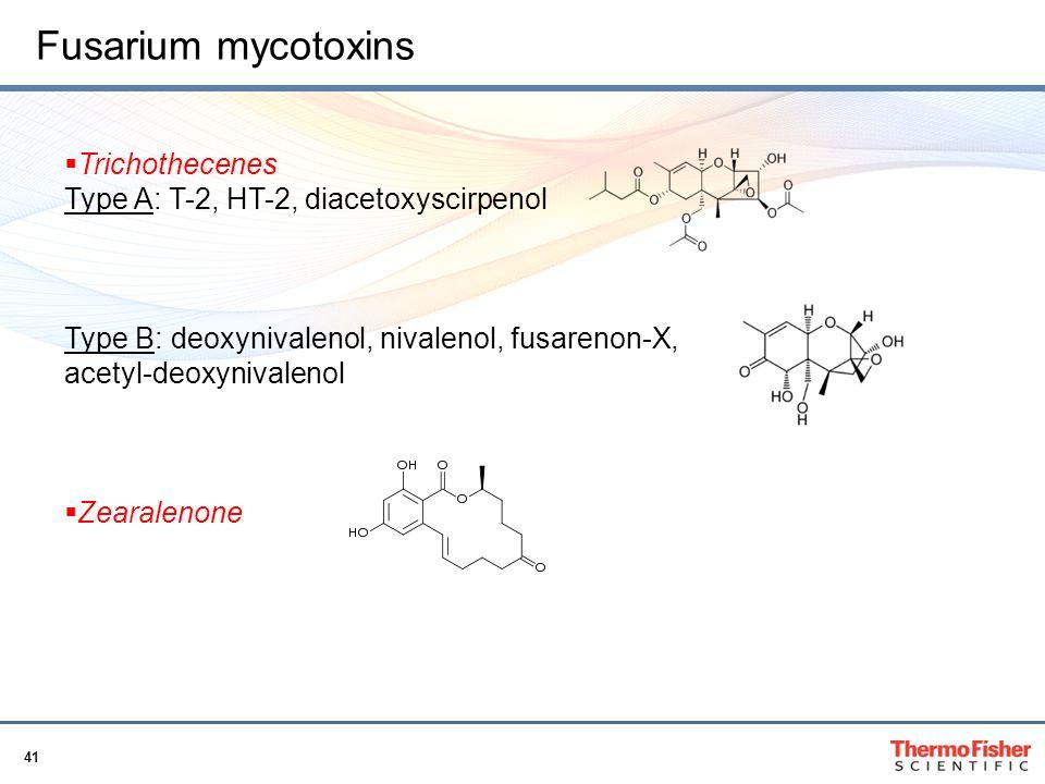 Fusarium mycotoxins Trichothecenes