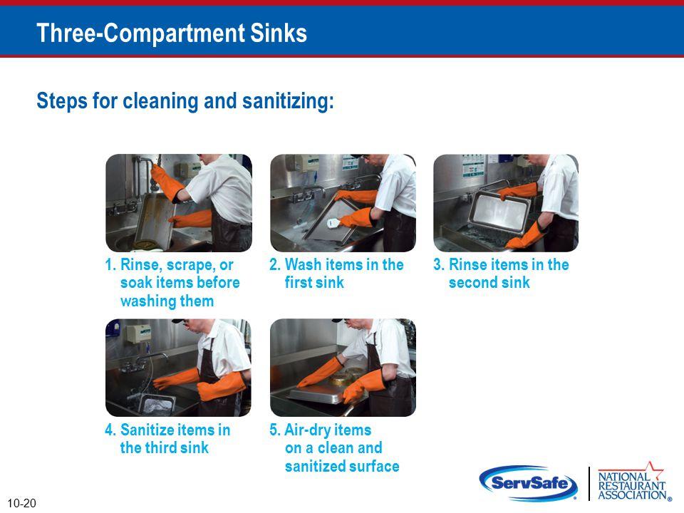 Three-Compartment Sinks