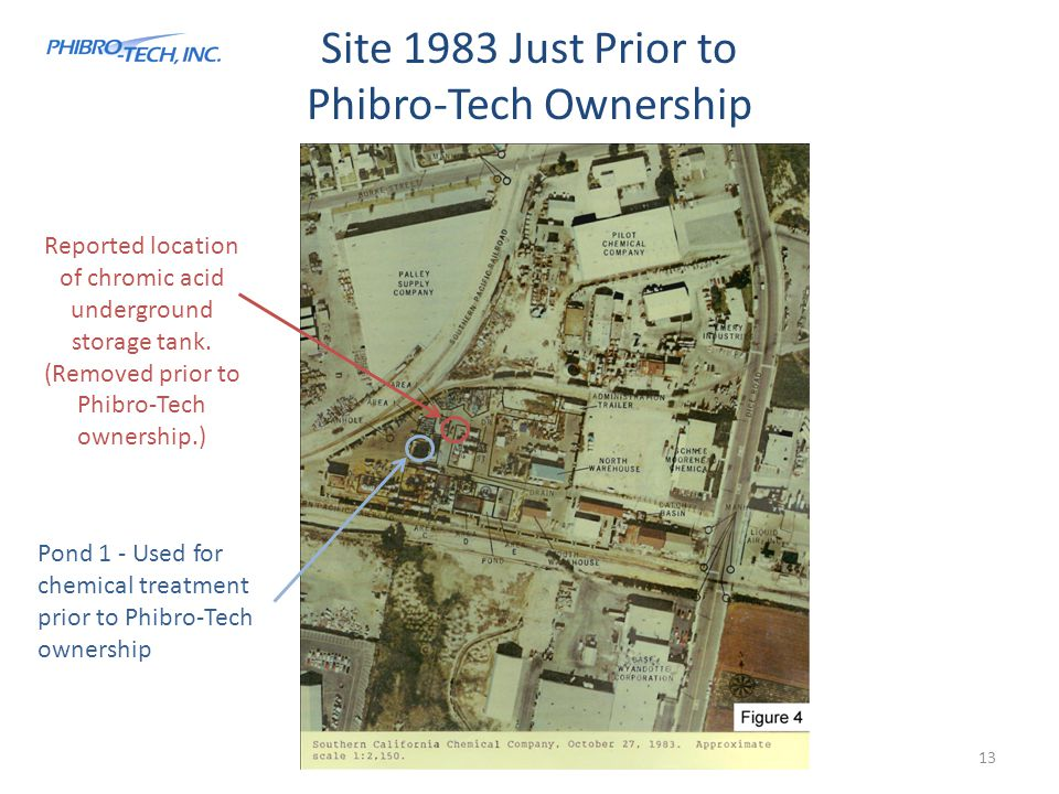 Site 1983 Just Prior to Phibro-Tech Ownership