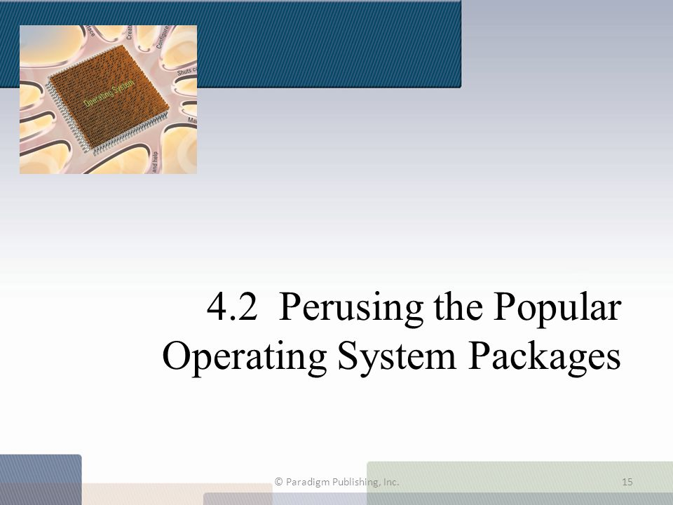 4.2 Perusing the Popular Operating System Packages