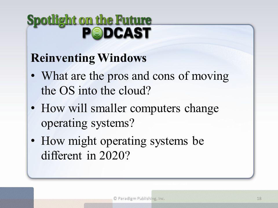 Spotlight on the Future