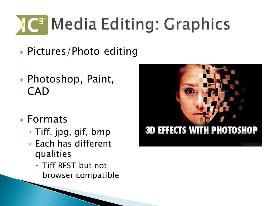 Media Editing: Graphics