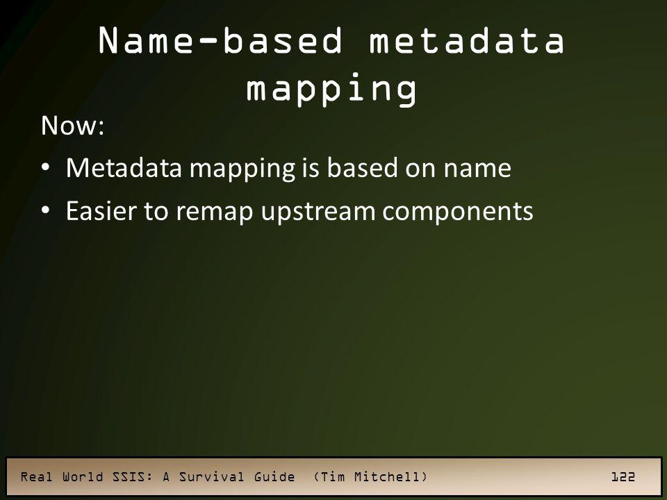 Name-based metadata mapping