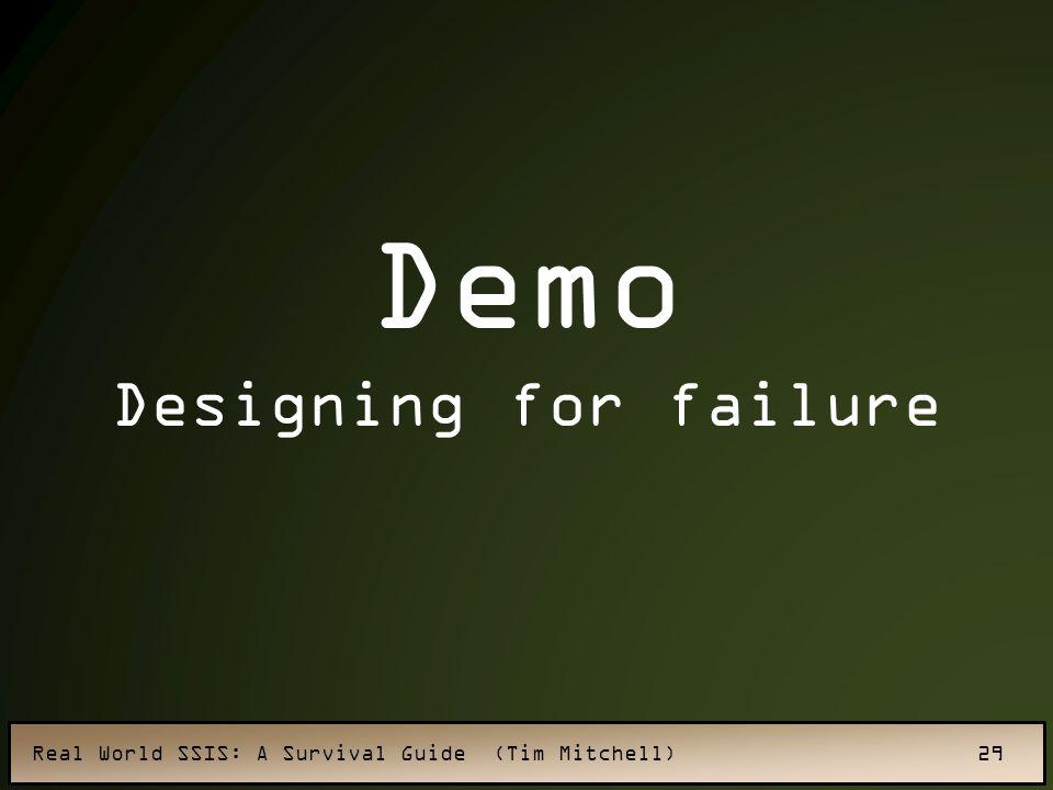 Demo Designing for failure