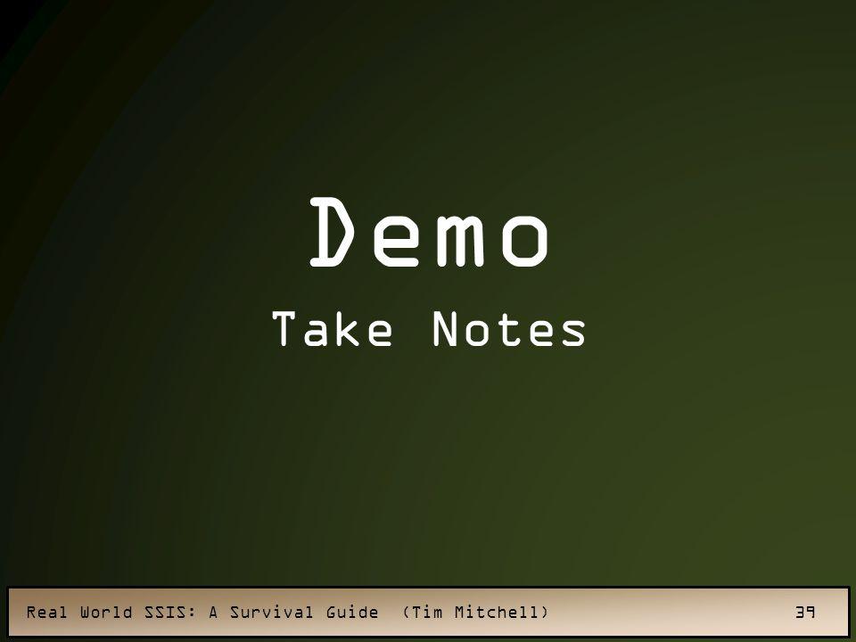 Demo Take Notes