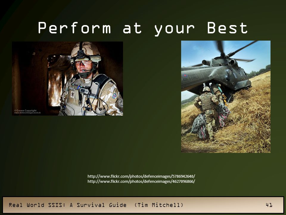Perform at your Best http://www.flickr.com/photos/defenceimages/5786942640/ http://www.flickr.com/photos/defenceimages/4627096866/