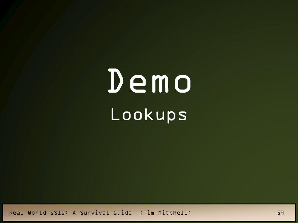 Demo Lookups