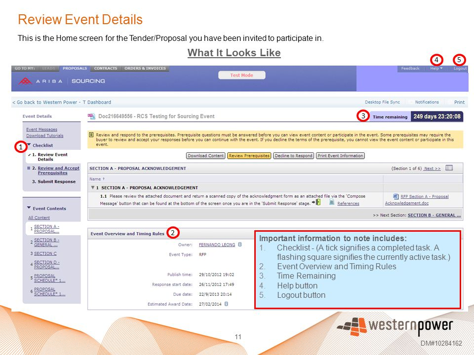 Review Event Details What It Looks Like