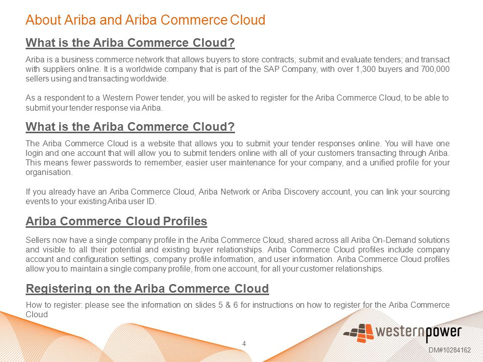 About Ariba and Ariba Commerce Cloud
