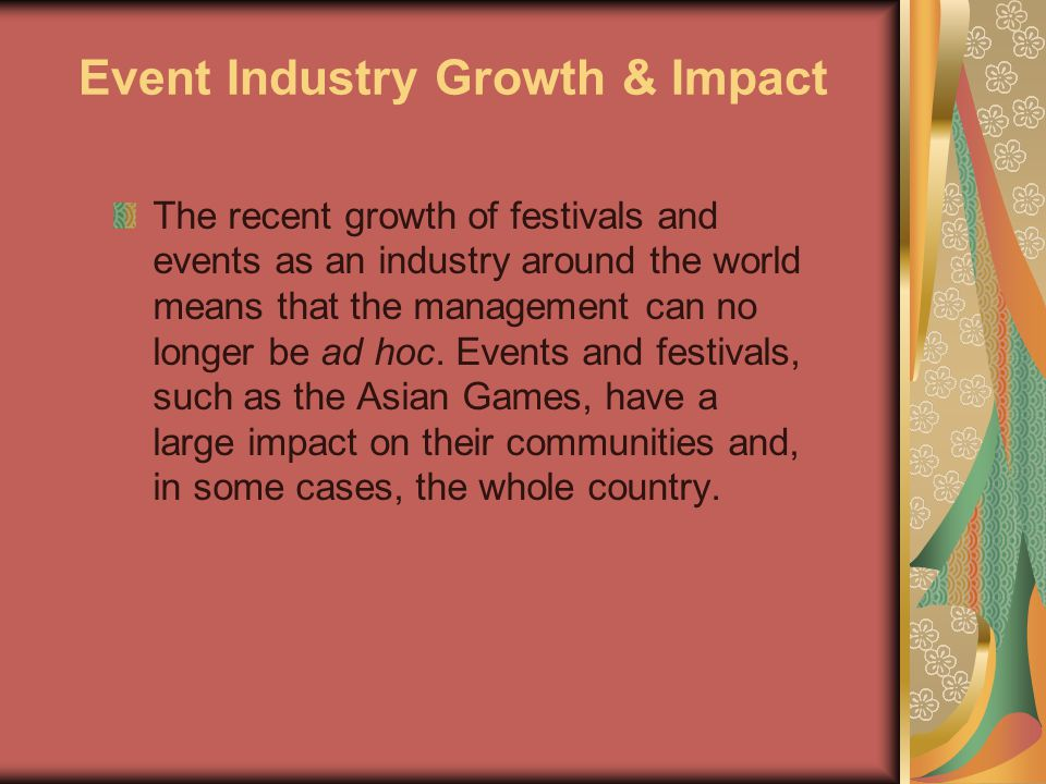Event Industry Growth & Impact