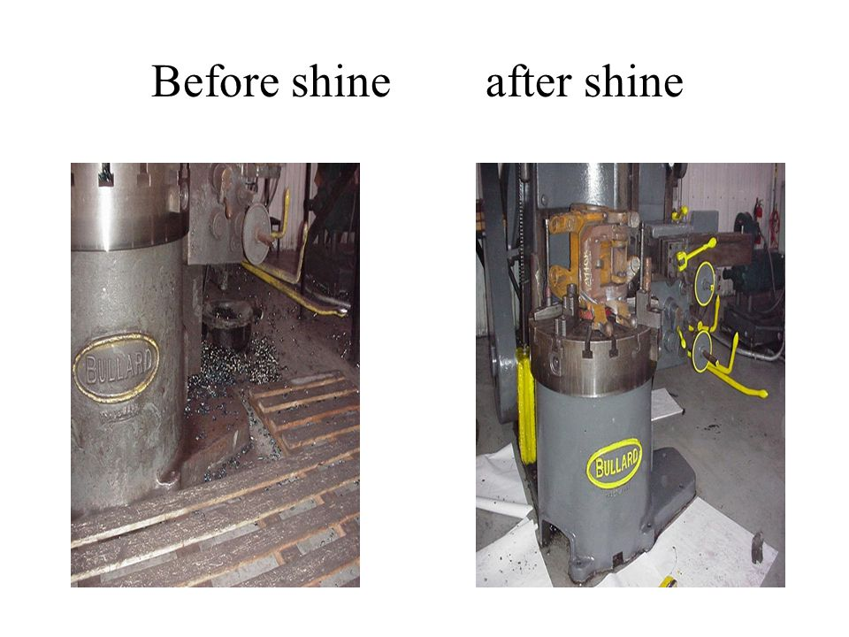 Before shine after shine