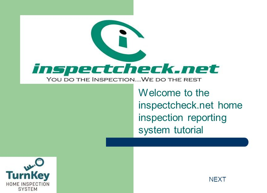 Welcome to the inspectcheck