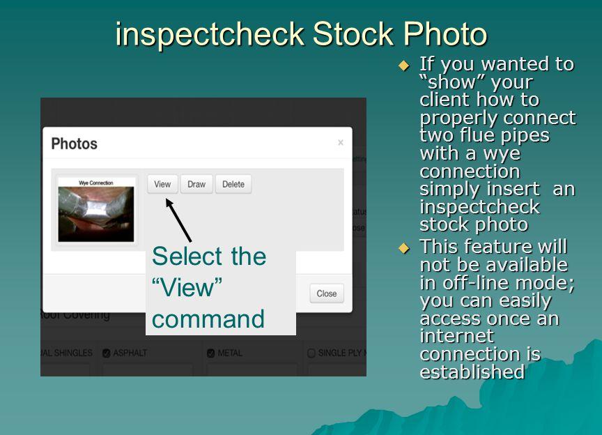 inspectcheck Stock Photo