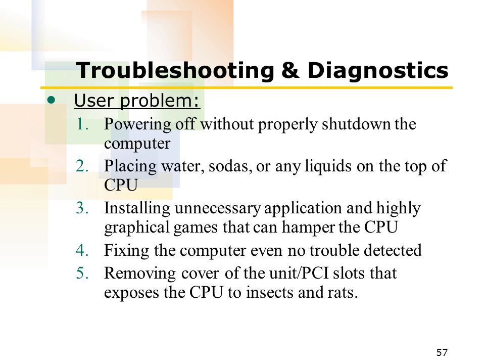 Troubleshooting & Diagnostics