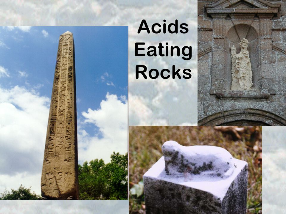 Acids Eating Rocks