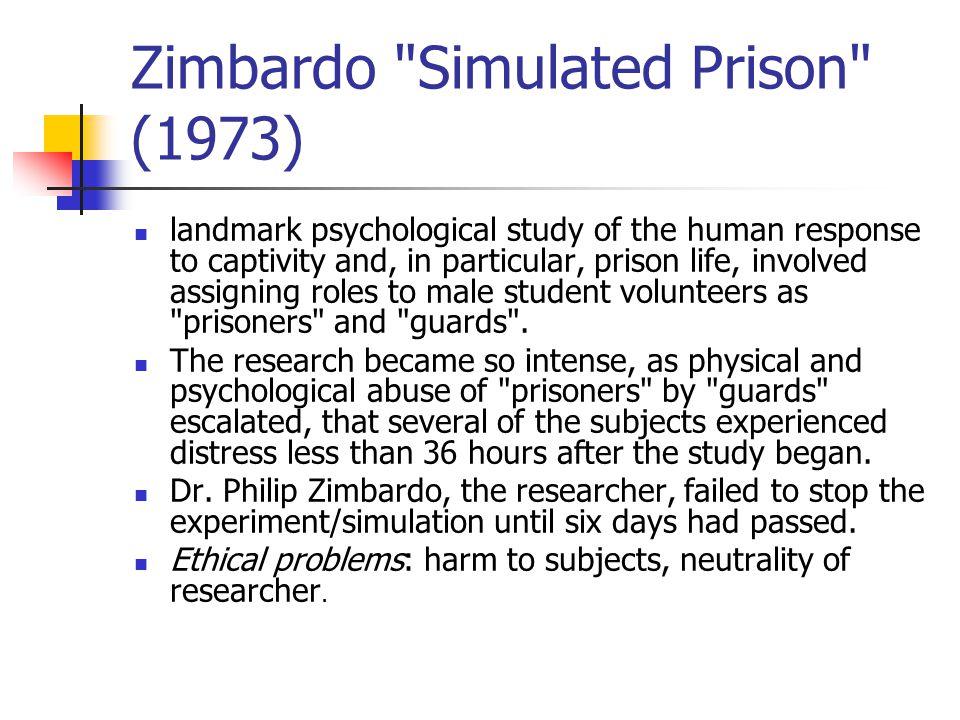Zimbardo Simulated Prison (1973)