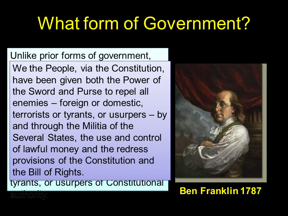 What form of Government