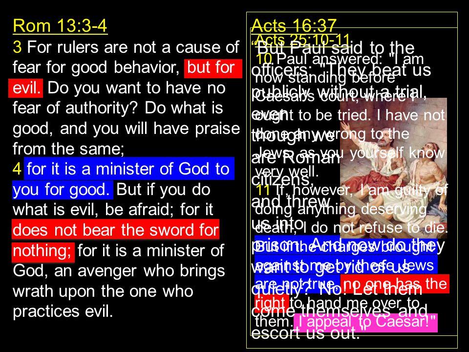 Rom 13:3-4