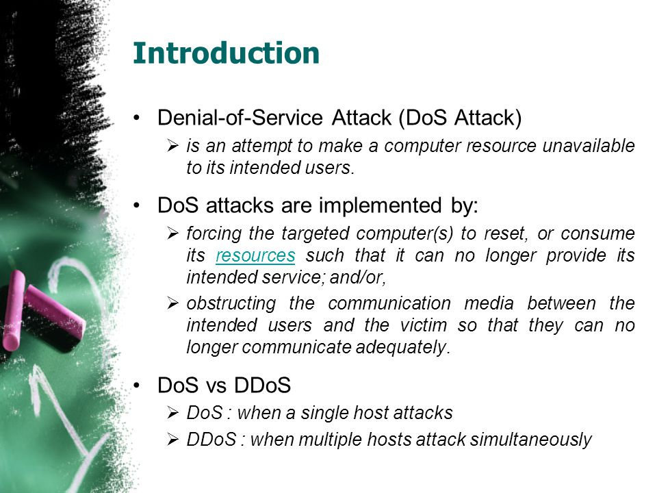 Introduction Denial-of-Service Attack (DoS Attack)