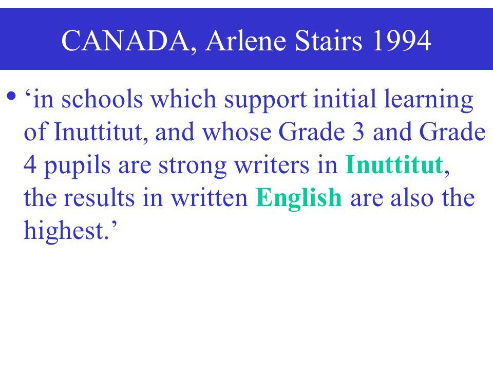 CANADA, Arlene Stairs 1994