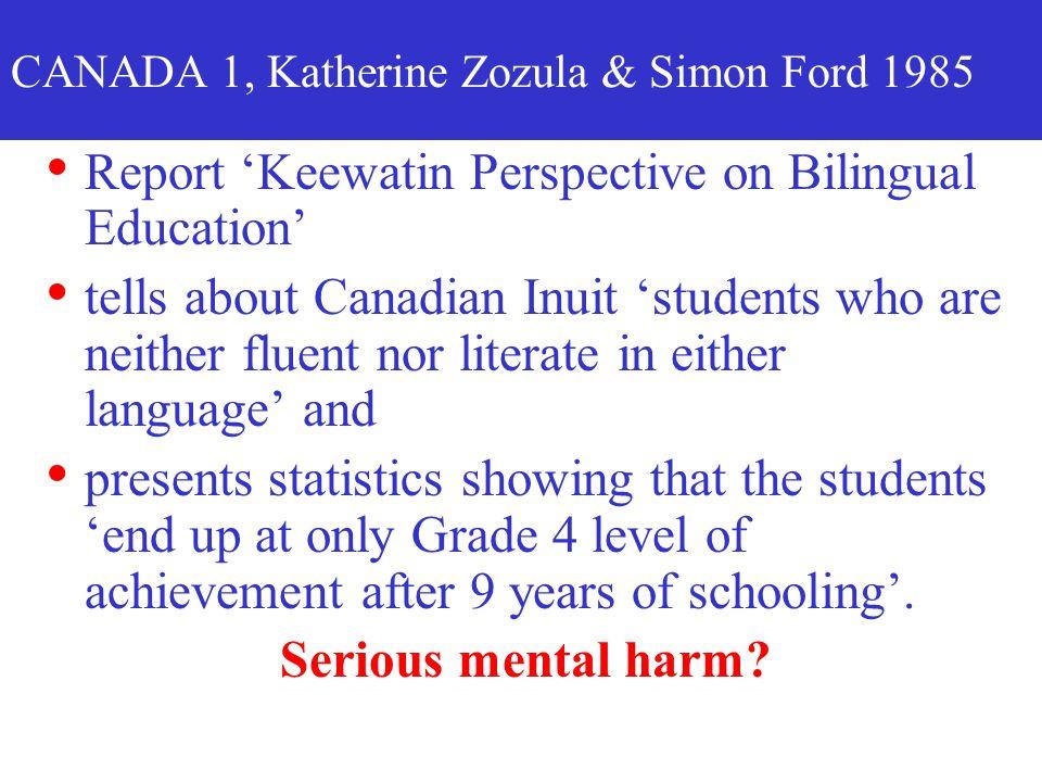CANADA 1, Katherine Zozula & Simon Ford 1985