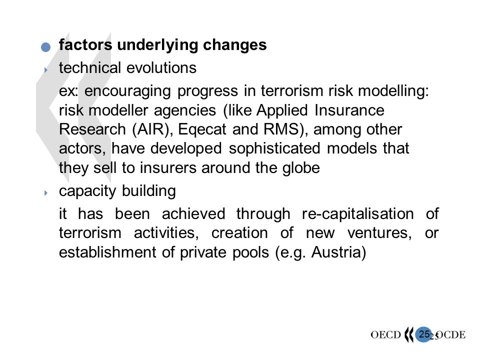 factors underlying changes