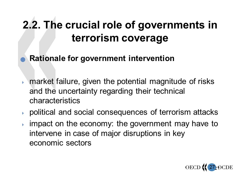 2.2. The crucial role of governments in terrorism coverage
