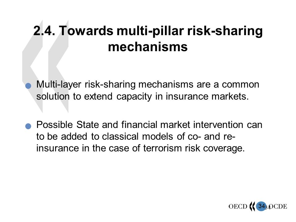 2.4. Towards multi-pillar risk-sharing mechanisms