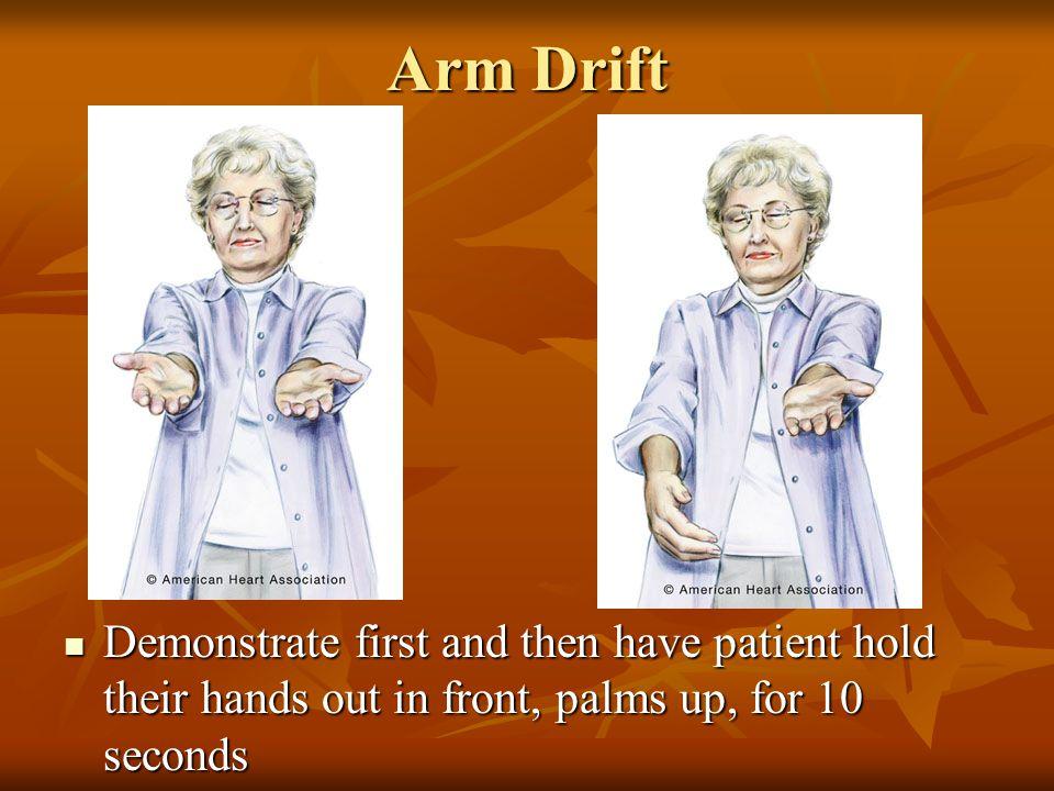 Arm Drift