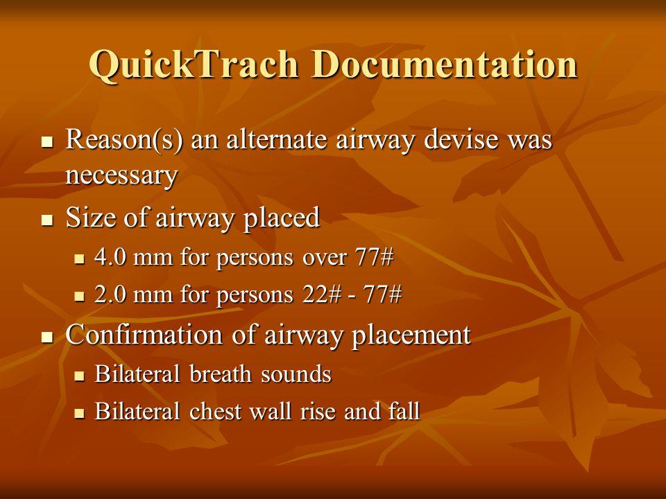 QuickTrach Documentation