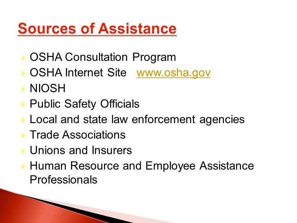 OSHA Consultation Program