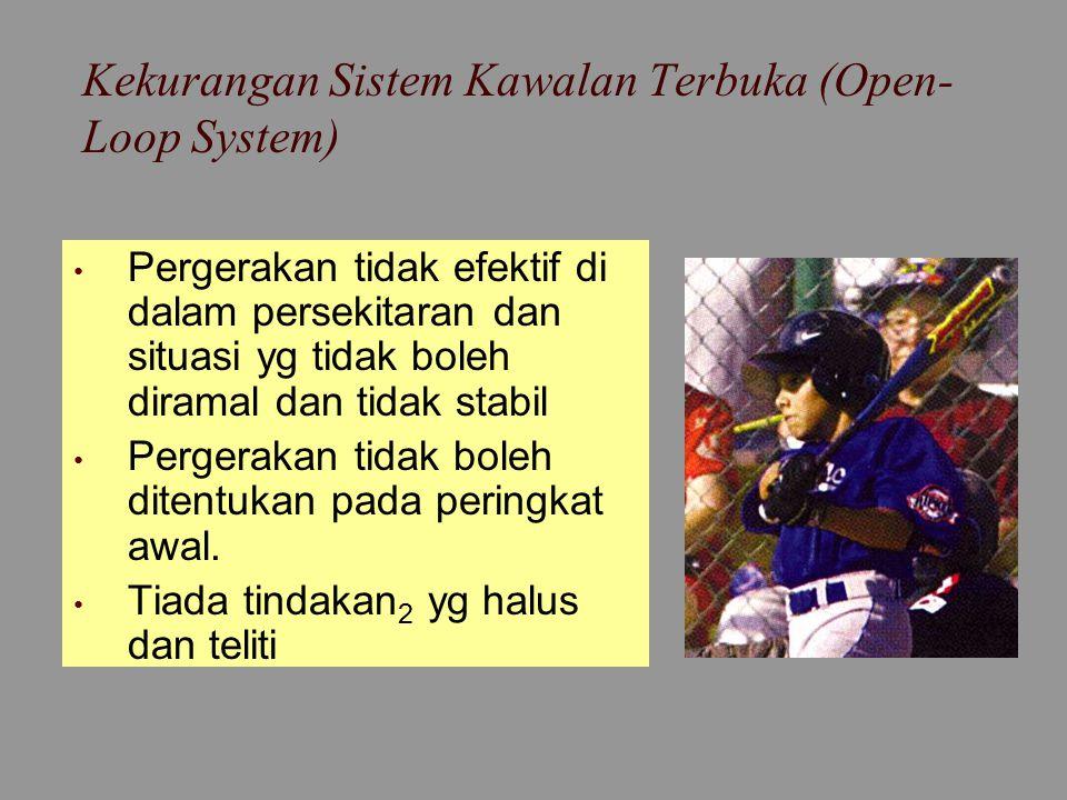 Kekurangan Sistem Kawalan Terbuka (Open-Loop System)