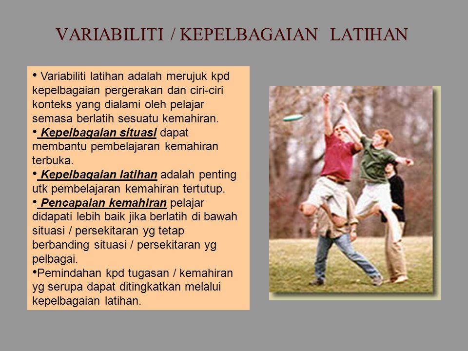 VARIABILITI / KEPELBAGAIAN LATIHAN