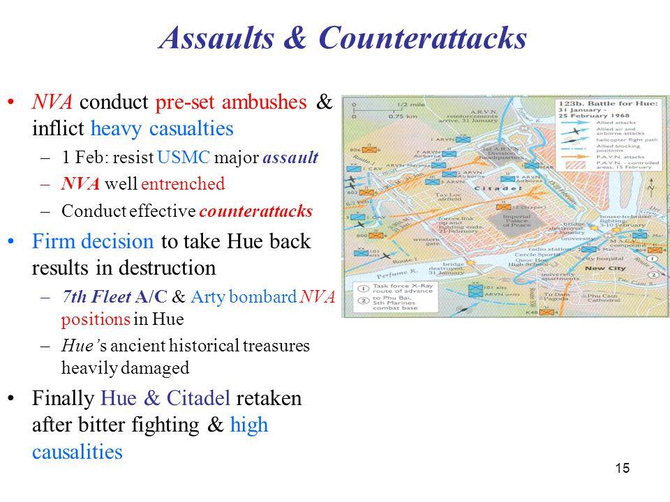 Assaults & Counterattacks