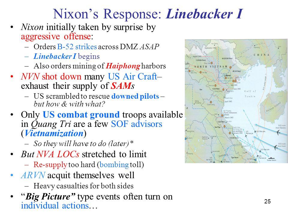 Nixon's Response: Linebacker I